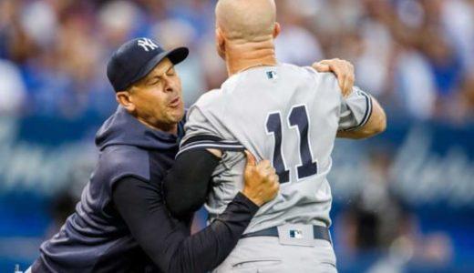 【動画あり】ノールック退場とは?MLBガードナーが逆上で無実判明?問題の球審は誰?